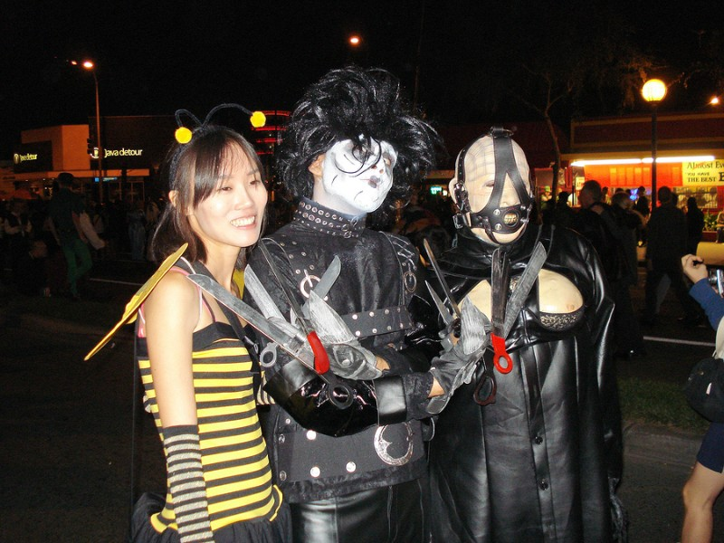 Halloween Carnival in West Hollywood