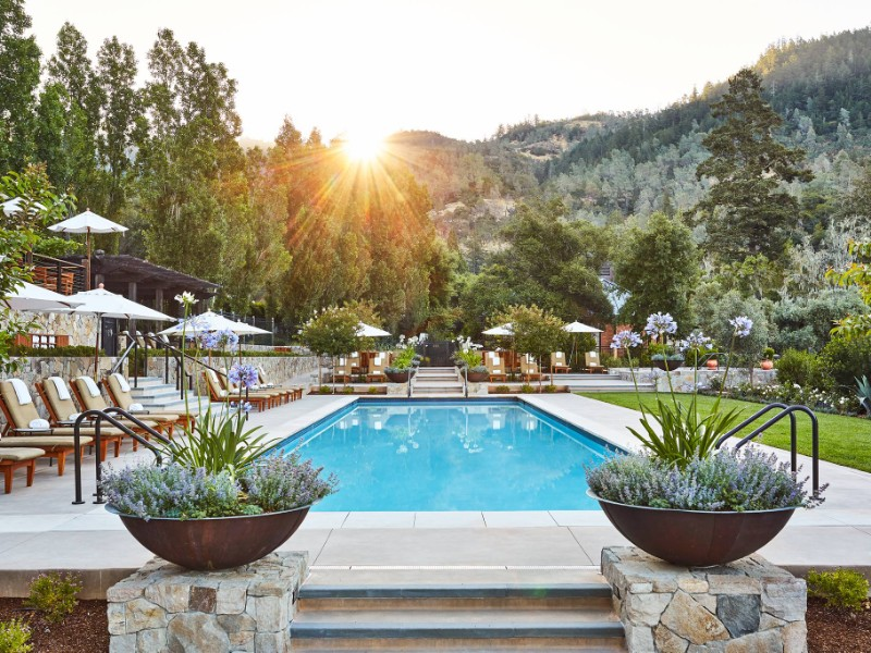 Calistoga Ranch An Auberge Resort Pool At