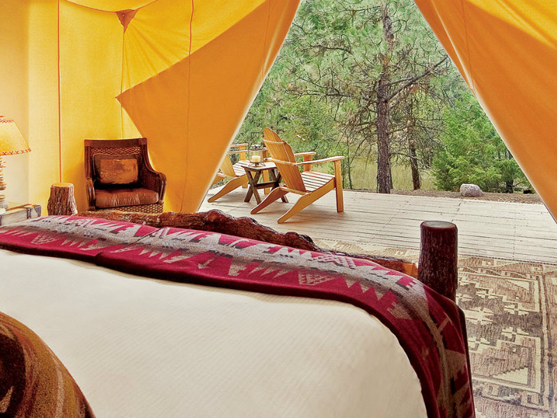 9 Best Glamping Spots in Montana (with Photos) - TripsToDiscover