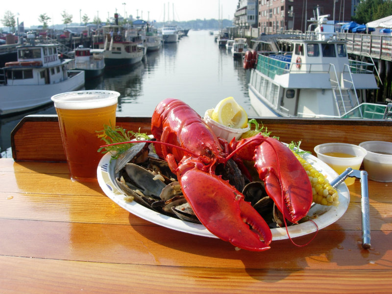 Traditional Lobster Meals In Maine