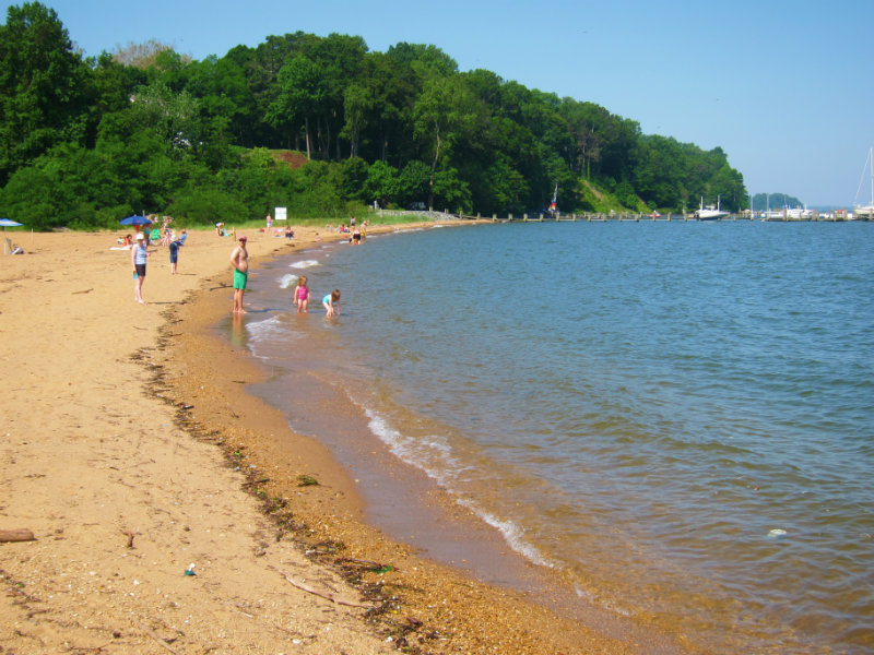 9 Best Beaches In Maryland With Photos