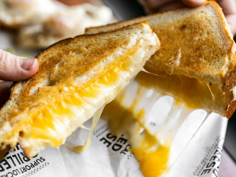 America for a Grilled Cheese Sandwich