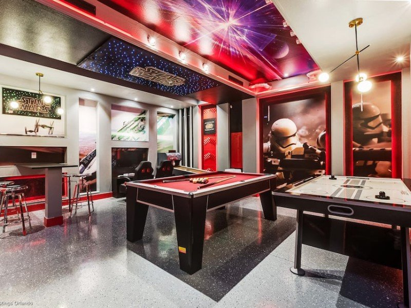 10 Vacation Rentals With Game Rooms For Indoor Amusement Trips To Discover
