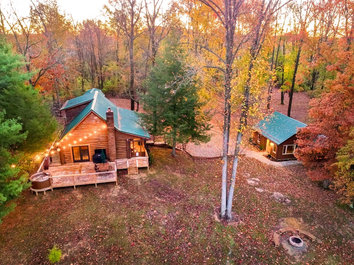 20 Best Cabin Rentals in Indiana for 20 with Photos – Trips To ...