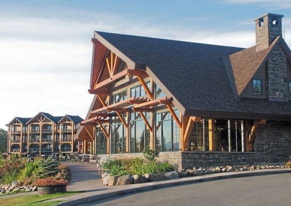 Adirondack Wing & Great Room Lobby ~ overlooking the lake