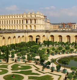 A view of the gardens as seen from Airelles Château de Versailles Le Grand Contrôle