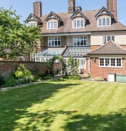Exterior and garden of Edwardian 5 bed Airbnb