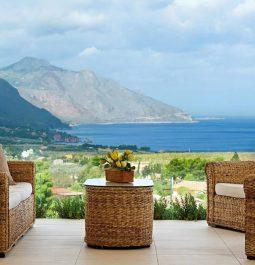 Villa Mirascopello with Enchanting Sea Panorama in Trapani