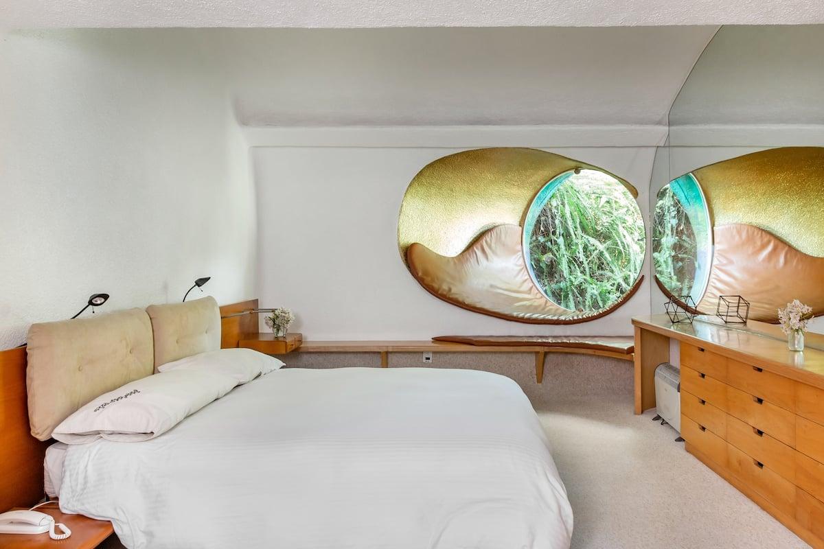 bedroom at Quetzalcoatl's Nest