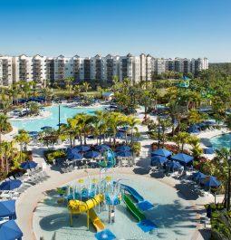 View of the Surfari Water Park at The Grove Resort & Water Park Orlando