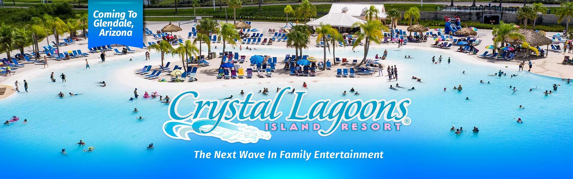 crystal lagoons island resort glendale arizona