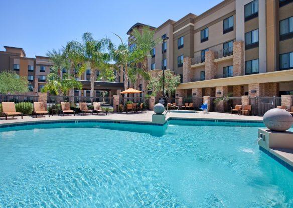 pool at Hampton Inn & Suites Phoenix Glendale-Westgate